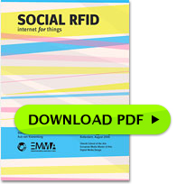 Social RFID thesis cover
