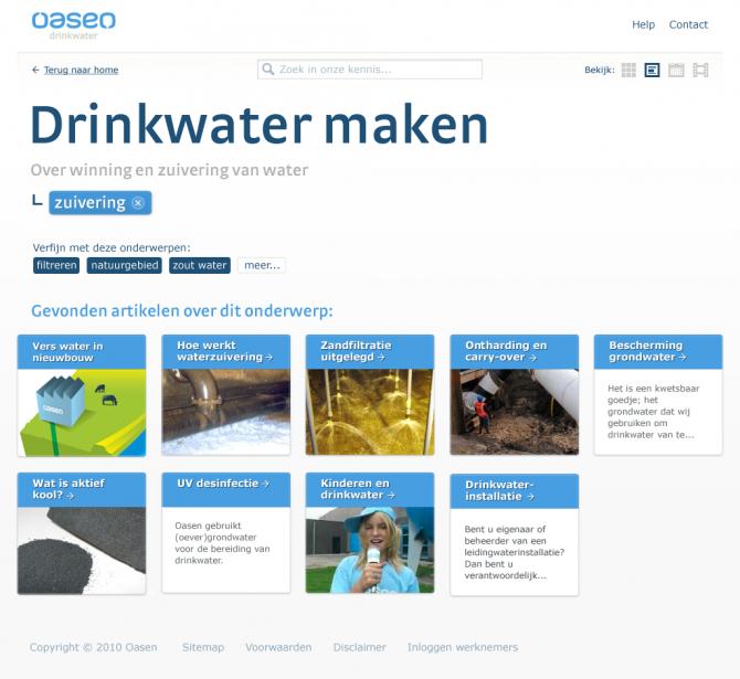 Drinkwater maken